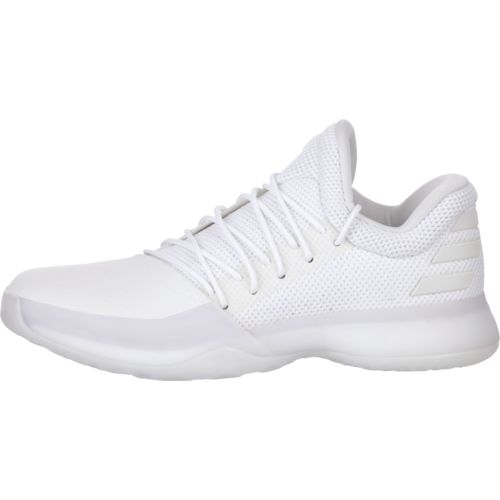 adidas basketball shoes white. adidas men\u0027s harden vol. 1 basketball shoes - view number white c