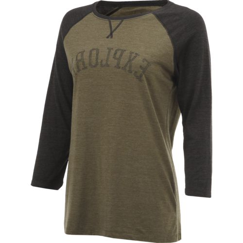 The North Face Women's Explore Buff Basketball 3/4 Sleeve T-shirt - view number 3