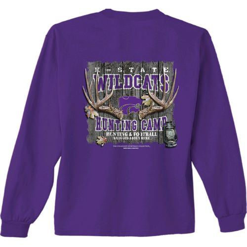 New World Graphics Men's Kansas State University Hunt Long Sleeve T-shirt