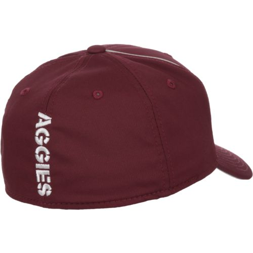 adidas Men's Texas A&M University Coach Structured Flex Cap - view number 3