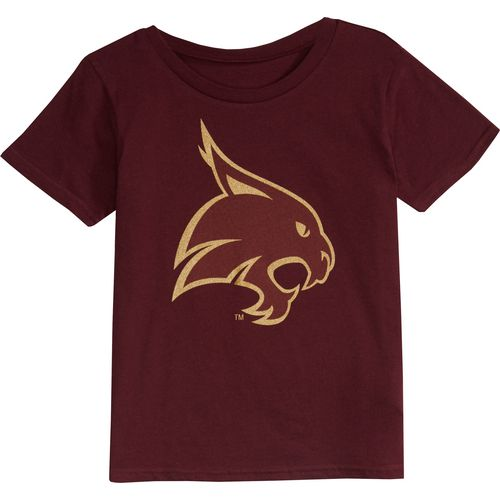 Gen2 Toddlers' Texas State University Primary Logo Short Sleeve T-shirt