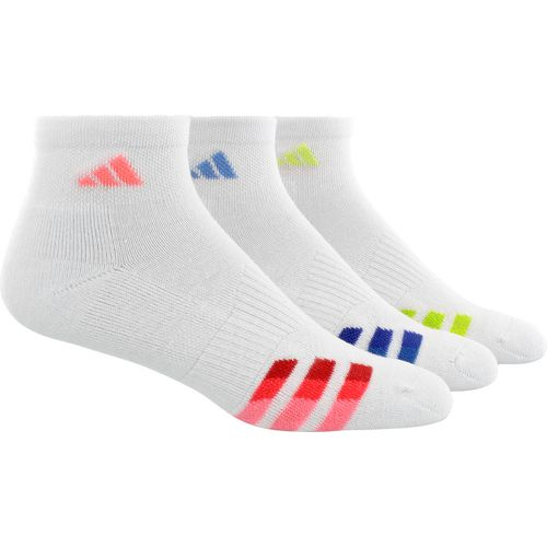 Display product reviews for adidas Women's Cushioned Variegated Quarter Socks 3 Pack