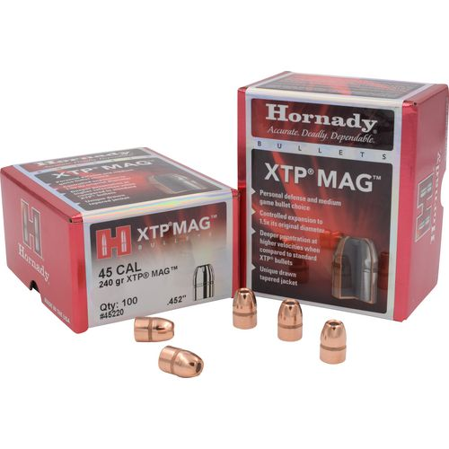 Display product reviews for Hornady XTP® Mag .45 240-Grain Bullets