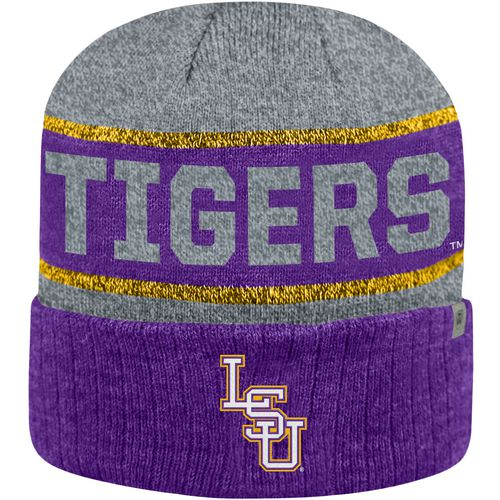 Top of the World Men's Louisiana State University Below Zero Cuff Knit Hat