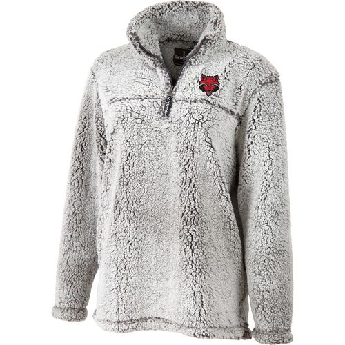 Boxercraft Women's Arkansas State University Sherpa 1/4 Zip Pullover