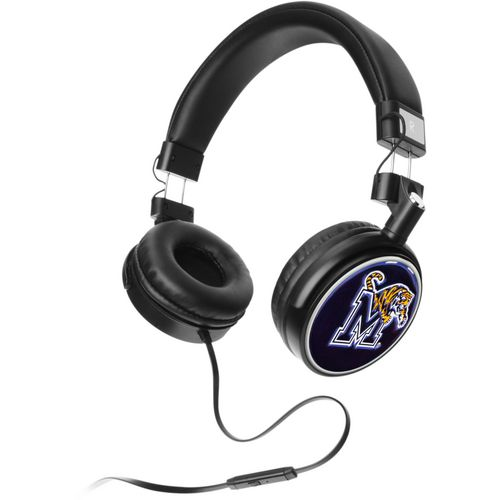 Mizco University of Memphis 4D Logo Headphones