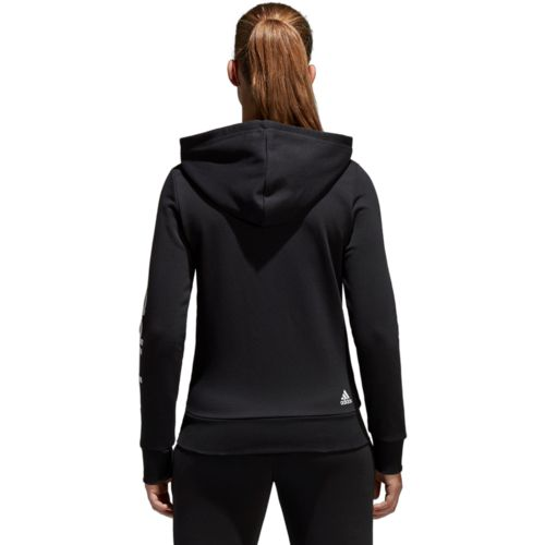 adidas Women's Essentials Linear Full Zip Hoodie - view number 4