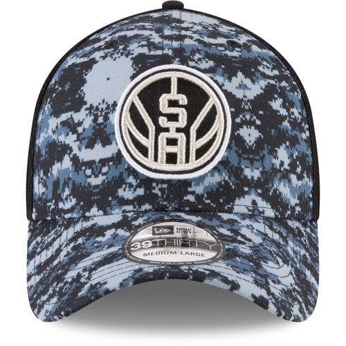New Era Men's San Antonio Spurs 39THIRTY City Series Cap