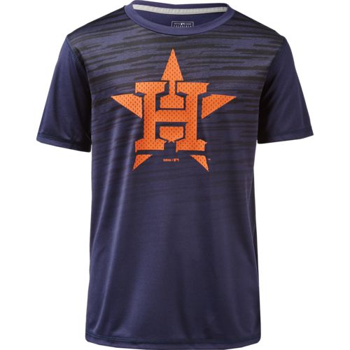 MLB Boys' Houston Astros True Grit Dri-Tek T-shirt