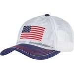 Academy Sports + Outdoors Men's Allover Mesh USA Cap - view number 1