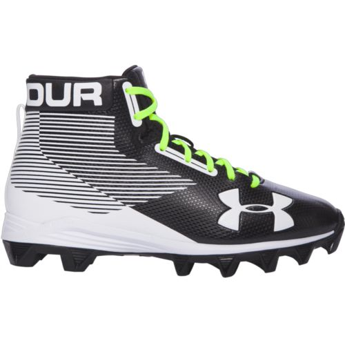 Under Armour Boys' Hammer Mid RM Jr Football Cleats - view number 3