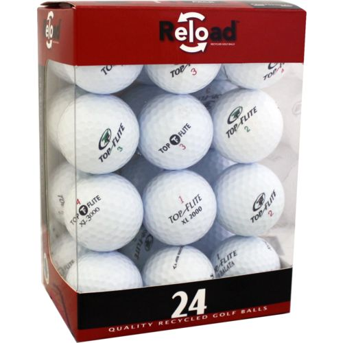 Reload™ Value Brands Recycled Golf Balls 24-Pack - view number 1