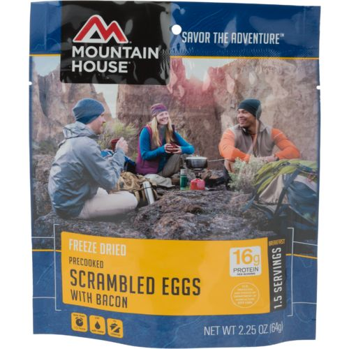 Mountain House® Precooked Scrambled Eggs with Bacon