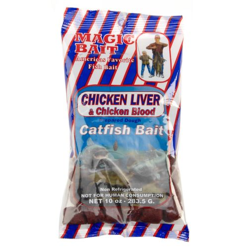 Magic bait chicken liver and chicken blood catfish bait for Fishing with chicken liver