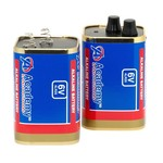 Academy Sports + Outdoors 6V Lantern Batteries 2-Pack - view number 2