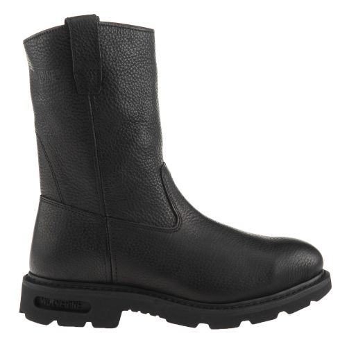 "Wolverine Men's 10"" Steel-Toe Wellington Work Boots"