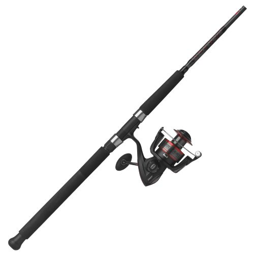 Penn fierce 7 39 freshwater saltwater spinning rod and for Surf fishing rods and reel combos