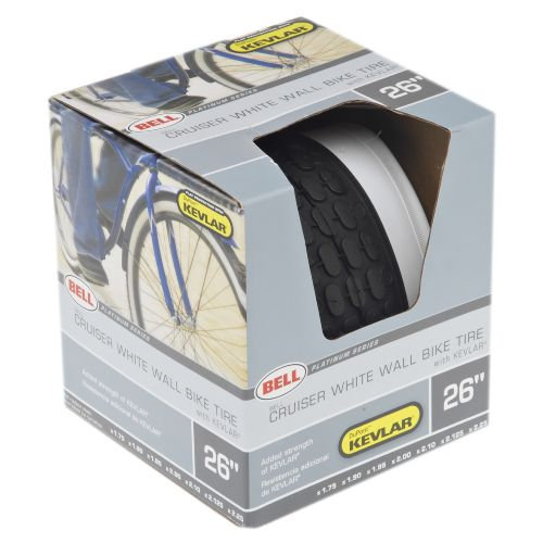 "Bell Whitewall 26"" Replacement Cruiser Tire"