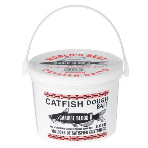 Catfish Charlie 45 oz. Type B Blood-Flavored Catfish Dough Bait