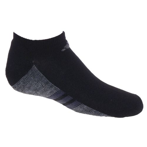 adidas Youth Graphic No-Show Socks 6-Pack