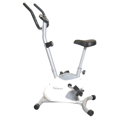 Image for Velocity Fitness Magnetic Upright Exercise Bicycle from Academy