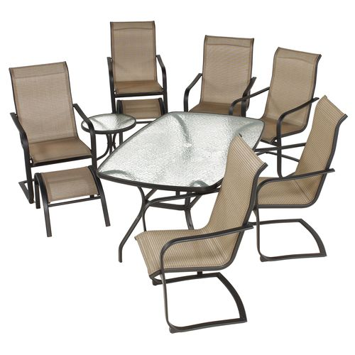 Mosaic Regency 9-Piece Spring Patio Set