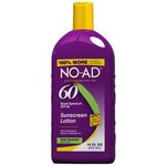 NO-AD® SPF 60 Sunscreen Lotion
