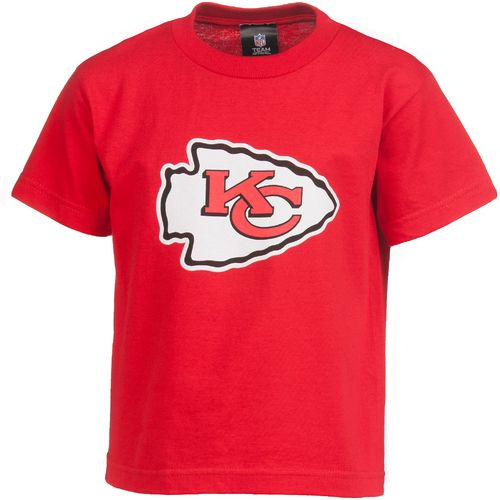 NFL Toddlers Kansas City Chiefs Team Logo Short Sleeve T-shirt