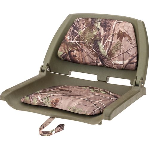 Display product reviews for Marine Raider Realtree Xtra Padded Fold Down Boat Seat