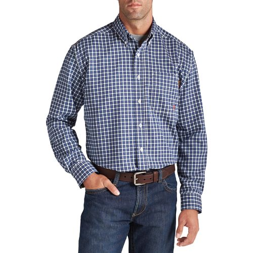 Ariat Men's FR Plaid Work Shirt