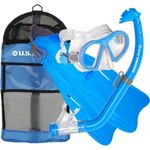 U.S. Divers Kids' Toucan Snorkel and Fins Set - view number 2