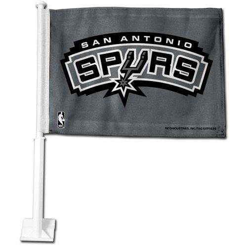 Display product reviews for Tag Express San Antonio Spurs Car Flag