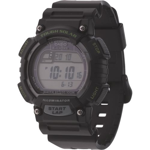 Casio Men's Solar 120-Lap Runner's Watch