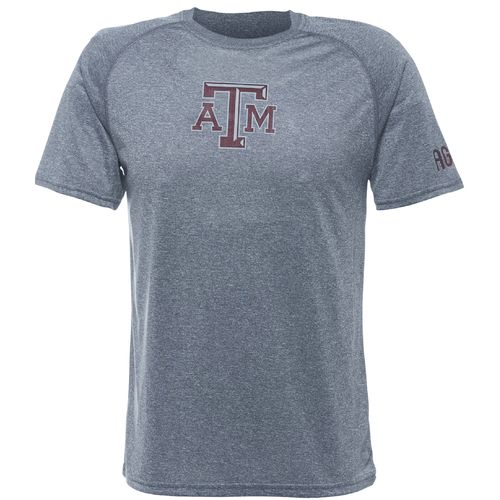 Majestic Men's Texas A&M University Section 101 Raglan Short Sleeve T-shirt