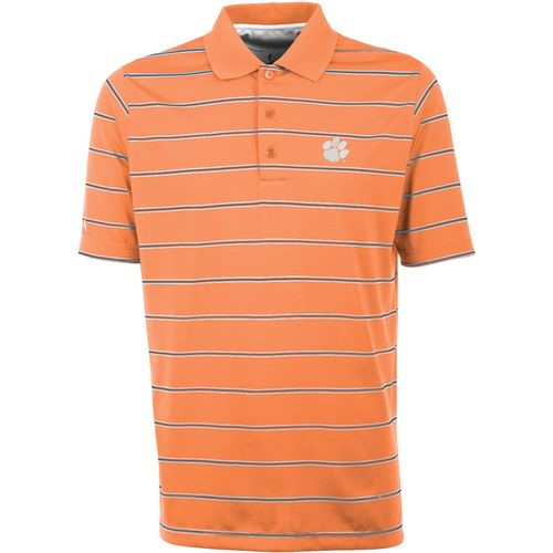 Antigua Men's Clemson University Deluxe Polo Shirt