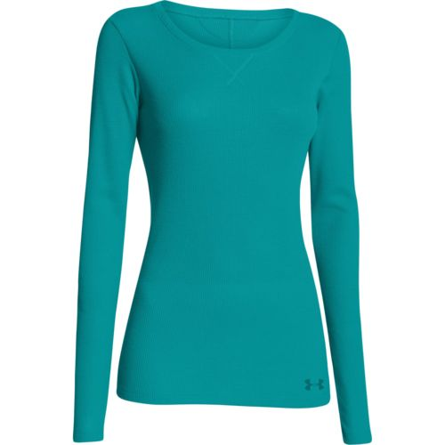 Academy under armour women 39 s cozy waffle long sleeve t for Under armour long sleeve t shirts women
