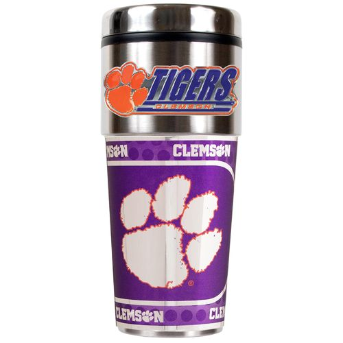 Great American Products Clemson University 16 oz. Travel