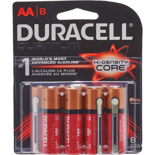 Duracell Quantum AA Batteries 8-Pack