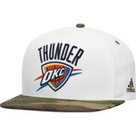 adidas™ Men's Oklahoma City Thunder Camo Structured Cap