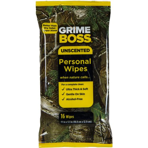 Grime Boss Personal Wipes 16-Pack