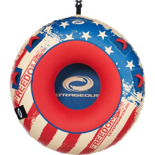 O'Rageous® Freedom 1-Person Inflatable Donut Tube