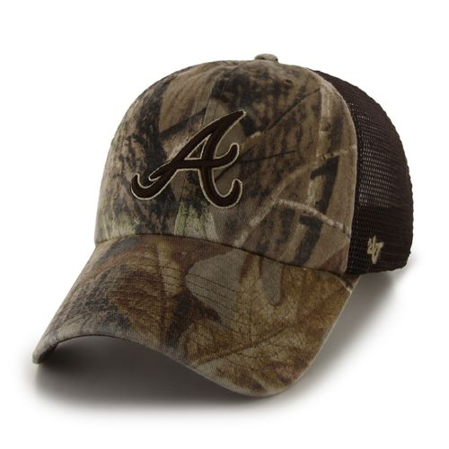 '47 Men's Atlanta Braves Realtree Sawgrass Clean Up Mesh Cap