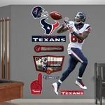 Fathead Houston Texans Andre Johnson #80 Reception Team and Player Decals 9-Pack