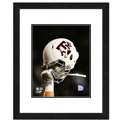 Photo File Texas A&M University Helmet Spotlight 8' x 10' Photo