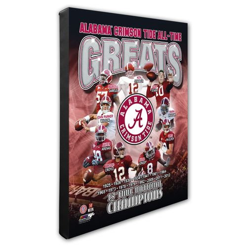 Photo File University of Alabama All-Time Greats 8""
