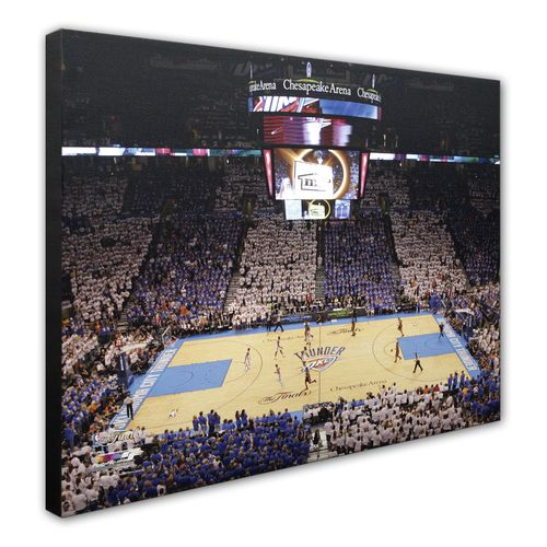 Photo File Oklahoma City Thunder Chesapeake Energy Arena