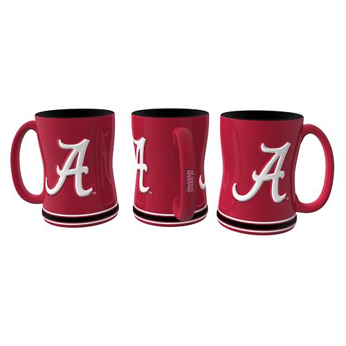 Boelter Brands University of Alabama 14 oz. Relief-Style Coffee Mug