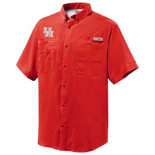 Columbia Sportswear™ Men's University of Houston Tamiami™ Short Sleeve Shirt