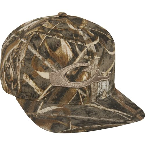 Drake Waterfowl Men's Flat Bill Cap