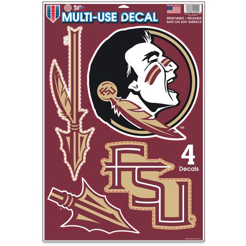 WinCraft Florida State University Multiuse Decals 4-Pack